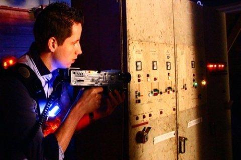 Twee heats lasergamen voor 2-10 personen bij De Kartfabrique
