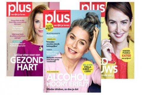 6 of 11 nummers Plus Magazine, je abonnement stopt automatisch