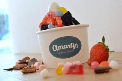 1-10 keer Frozen Yoghurt