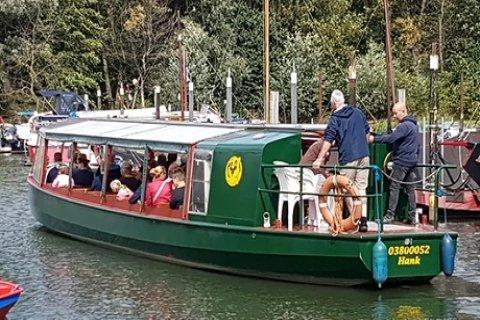 Rondvaart door De Biesbosch naar keuze bij Vissershang Horeca & Recreatie