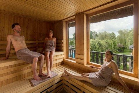 Dagje sauna, naar keuze met koffie/thee en wat lekkers bij Zwaluwhoeve in Hierden